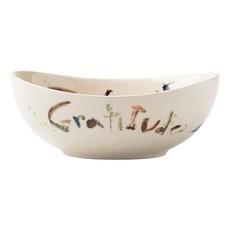 """Juliska Juliska Forest Walk Oval 7"""" """"Love & Gratitude"""" Bowl"""