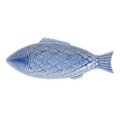 "Juliska Juliska B&T ""Fish"" Platter- Blue"