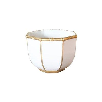 Dana Gibson Dana Gibson Small Bowl Bamboo White