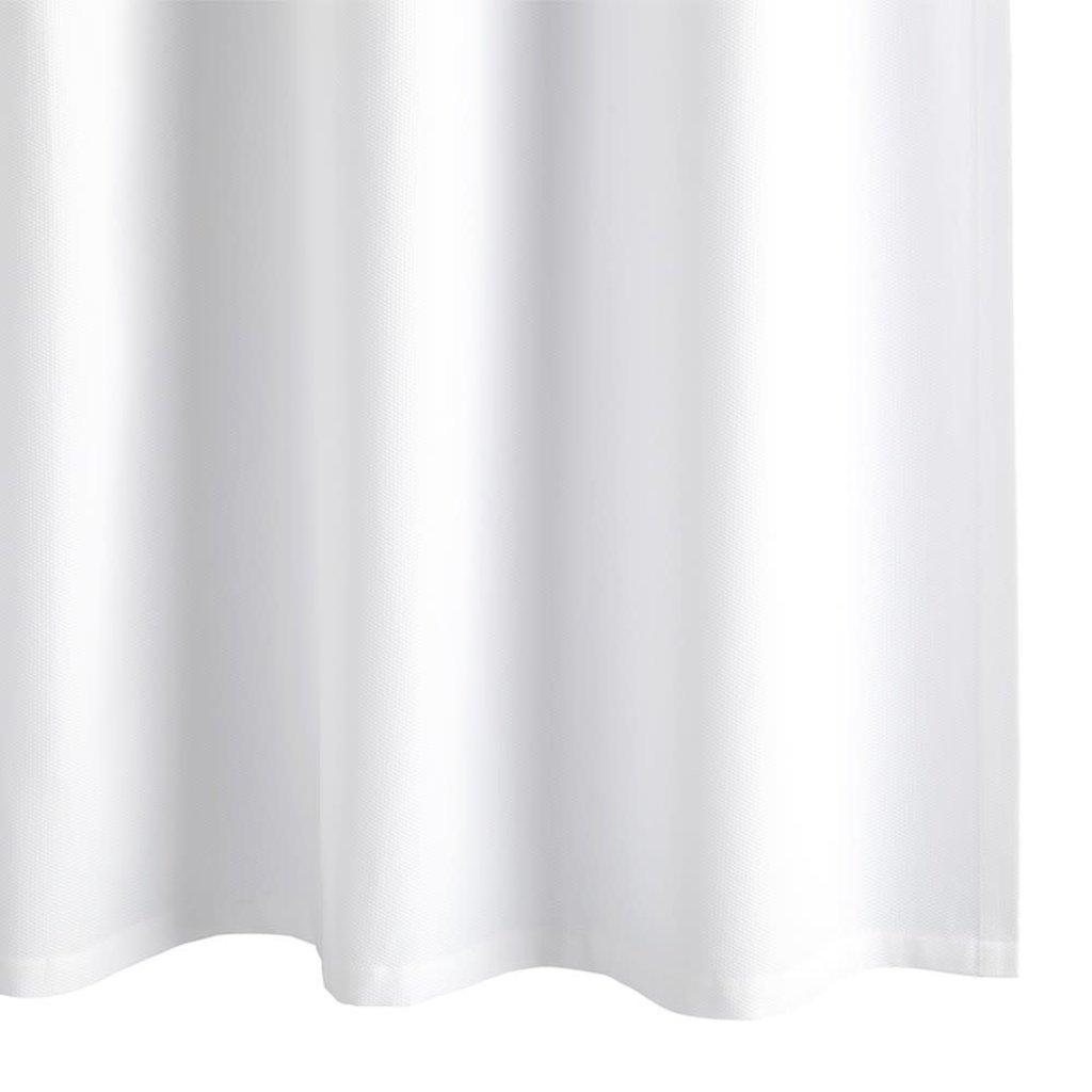 "Matouk Matouk Birdseye Pique Shower Curtain with 12"" Monogram (CLASS A)"