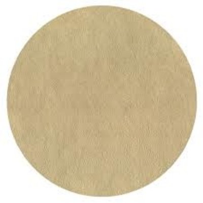 Caspari CASPARI GOLD LEATHER ROUND PLACEMAT