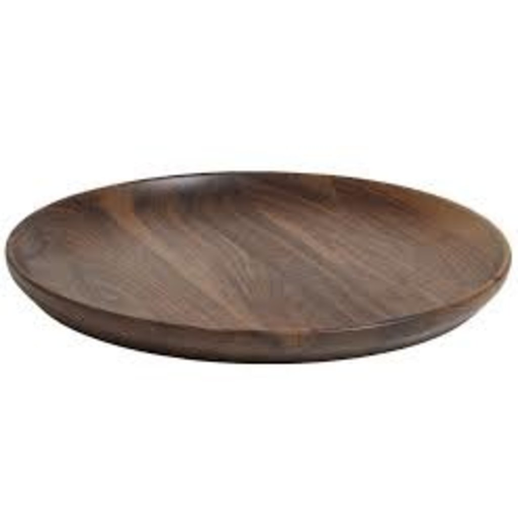 "Andrew Pearce Andrew Pearce Serving 20"" Platter - Black Walnut"