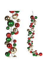 RAZ Imports RAZ IMPORTS 4' CHRISTMAS BALL GARLAND