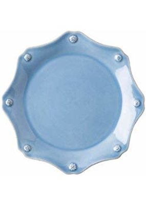 Juliska Juliska Berry & Thread Chambray Scalloped Dessert/ Salad Plate -9""