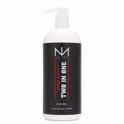 NIVEN MORGAN NIVEN MORGAN RUE 1807 BODY WASH & SHAMPOO 16 OZ