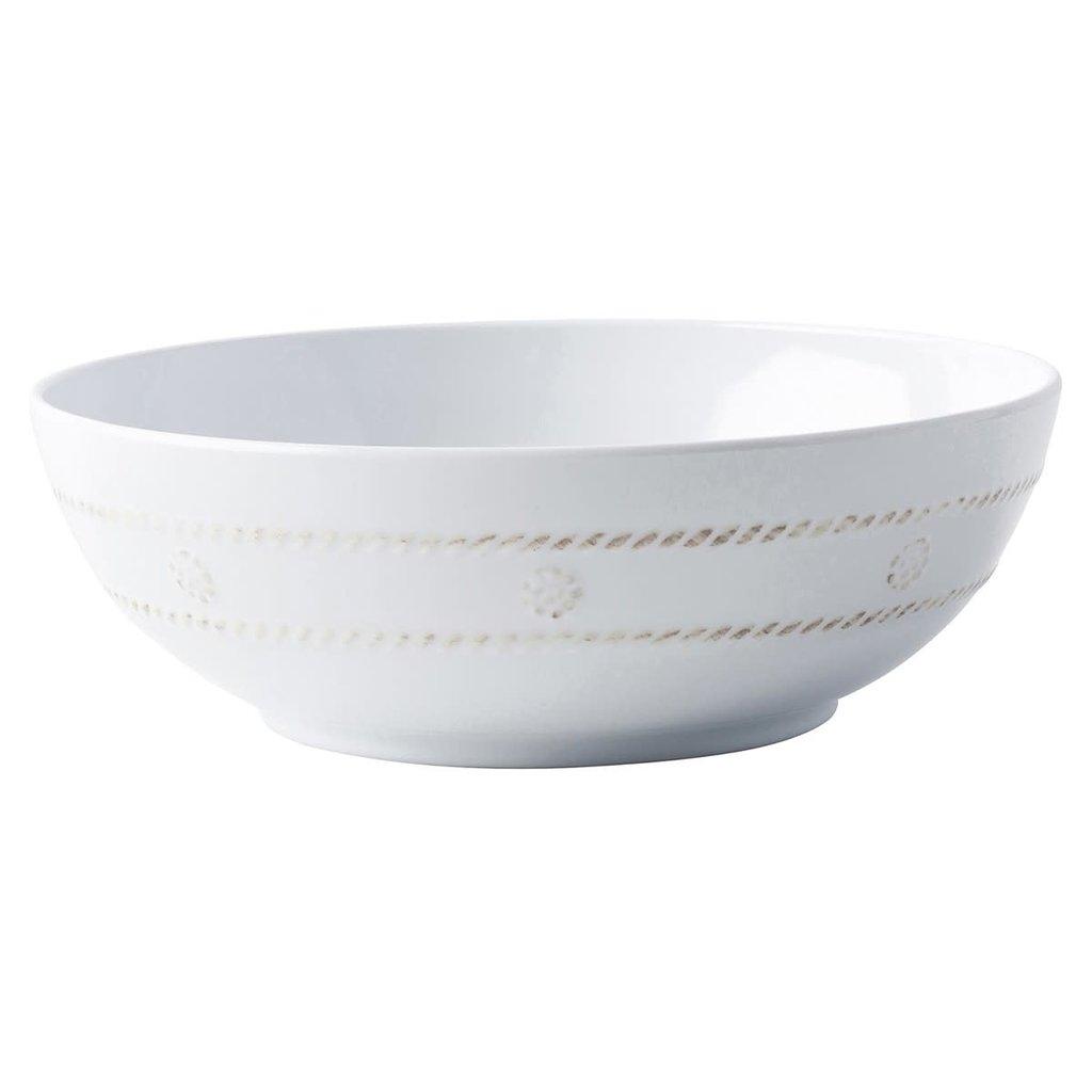 "Juliska Juliska Berry & Thread Melamine Whitewash Coupe Bowl - 8.2""W"