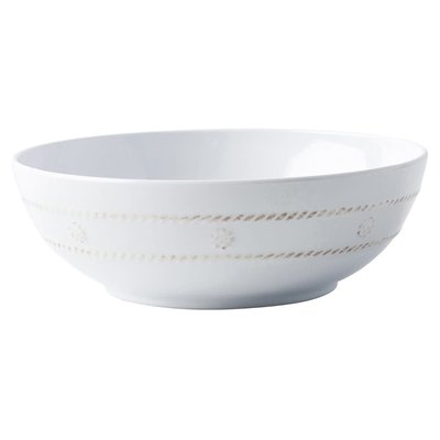 "Juliska Juliska Berry & Thread Melamine Whitewash Coupe Bowl - 8.2""W"
