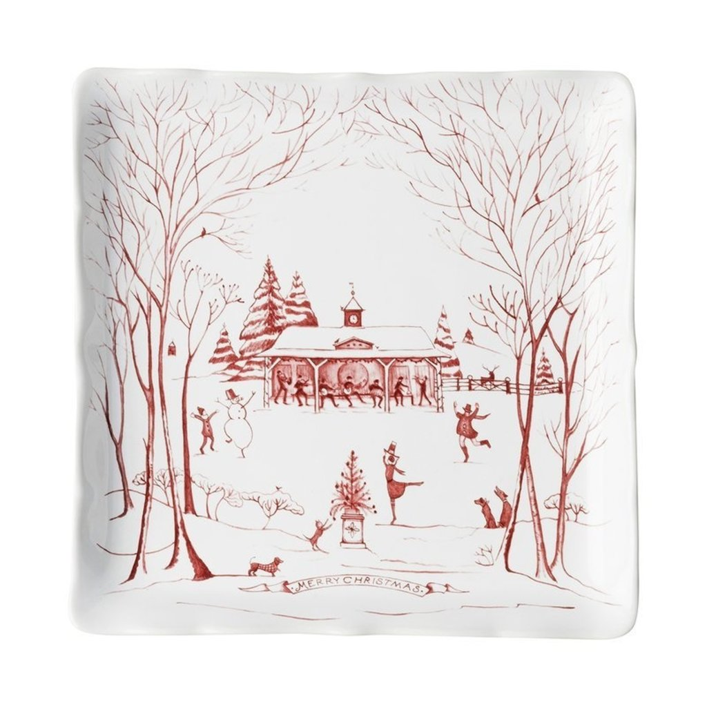 Juliska Juliska CE Winter Frolic Sweet Tray