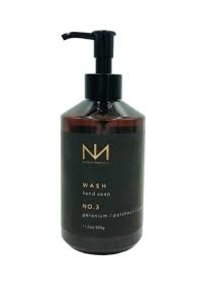 NIVEN MORGAN NIVEN MORGAN NO.3 HAND SOAP: GERANIUM, PATCHOULI & PEPPER