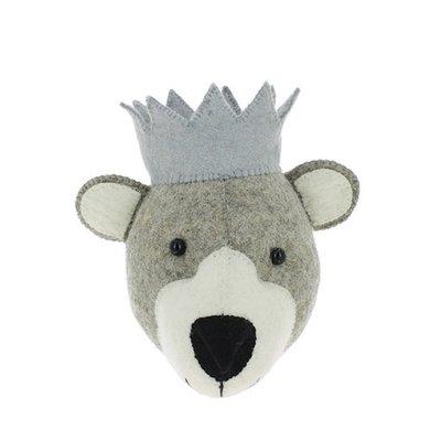 Fiona Walker Fiona Walker Baby Bear with Crown mini