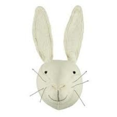 Fiona Walker Fiona Walker White Rabbit Head Mini