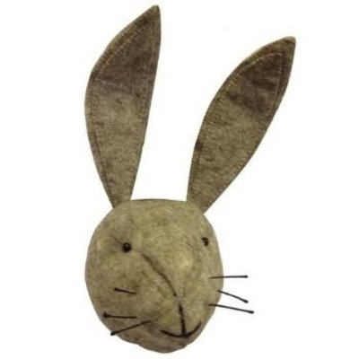Fiona Walker Fiona Walker Grey Hare Head Large