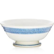 Juliska Juliska Le Panier Footed Fruit Bowl White/Delft