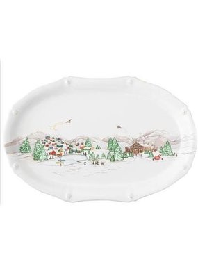 "Juliska Juliska B&T North Pole 17"" Platter"