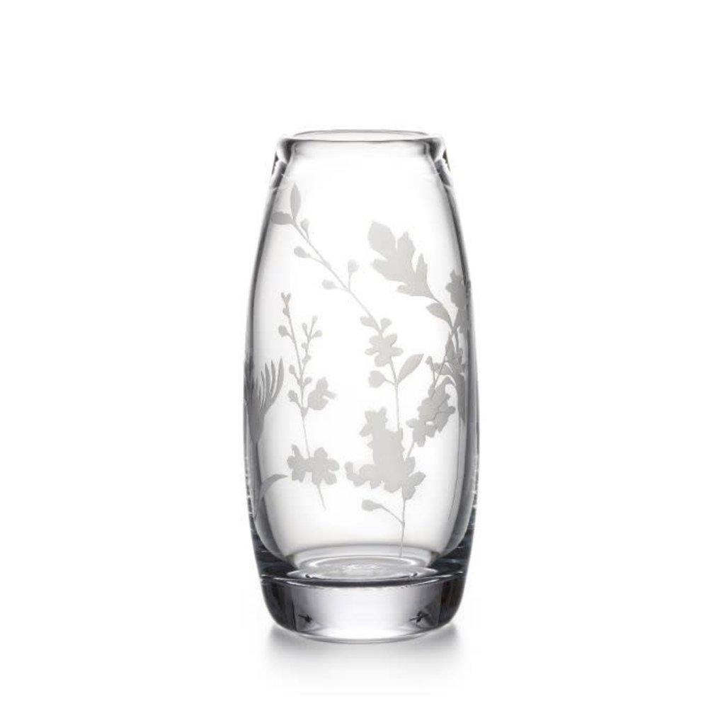 Simon Pearce Simon Pearce Engraved Floral Addison Vase
