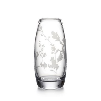 Simon Pearce Simon Pearce Engraved Floral Addison Vase