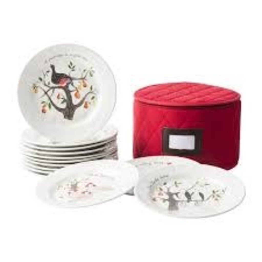 Juliska Ce 12 Days Of Christmas Dessert Salad Plates Set Of 12