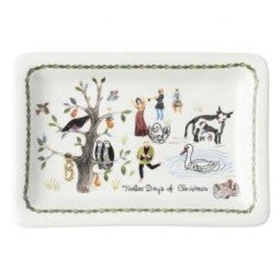 Juliska Juliska Twelve Days of Christmas Trinket Tray
