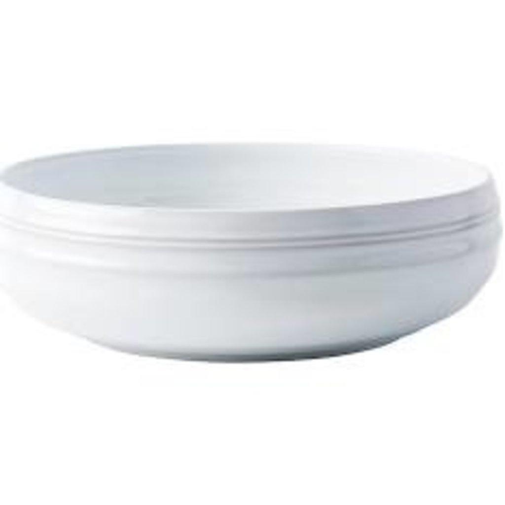 "Juliska Juliska Bilbao Coupe Bowl White Truffle 8.5""W"