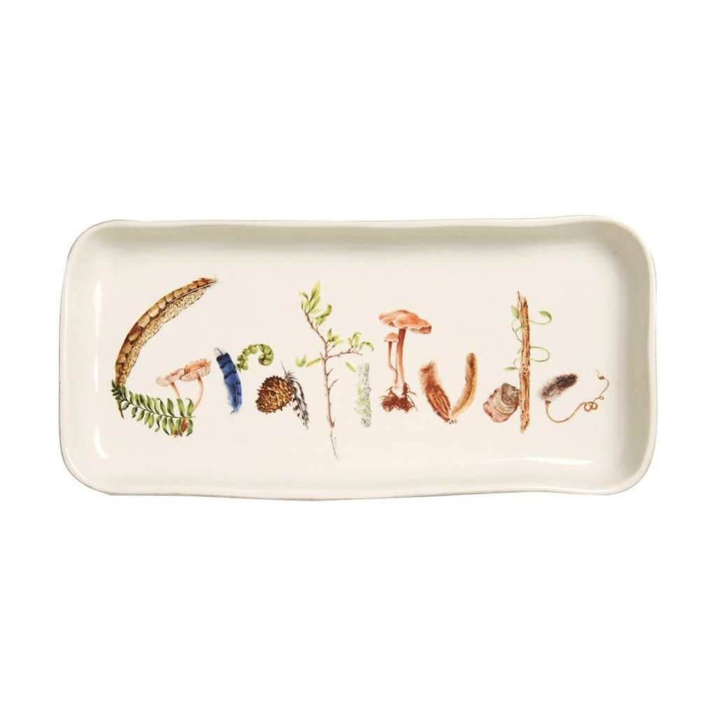 "Juliska Juliska Forest Walk ""Gratitude"" Tray"