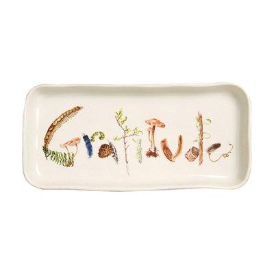 """Juliska Juliska Forest Walk """"Gratitude"""" Tray"""