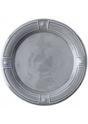 Juliska Juliska French Panel Dessert/Salad Plate Stone Grey