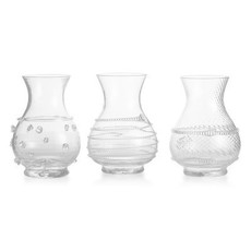 Juliska Juliska Mini Vase Trio Clear
