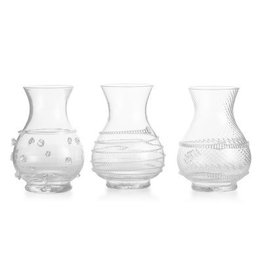 Juliska Juliska Mini Vase Trio Clear