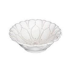 "Juliska Juliska Jardins du Monde Whitewash 6"" Blossom Bowl"
