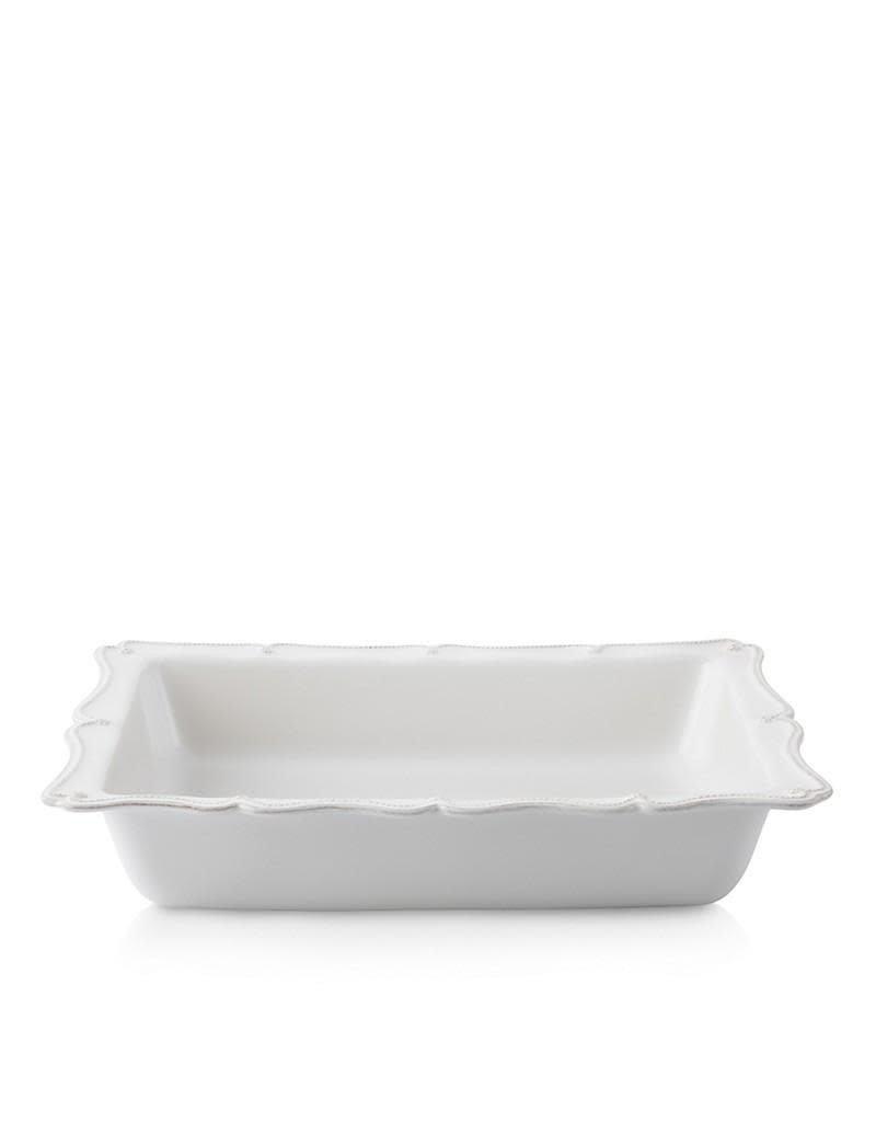 "Juliska Juliska Berry & Thread Whitewash 17.5"" Rectangular Baker"