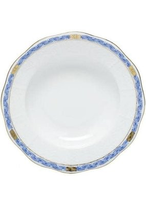 Herend Herend Chinese Bouquet Garland Rim Soup- Blue