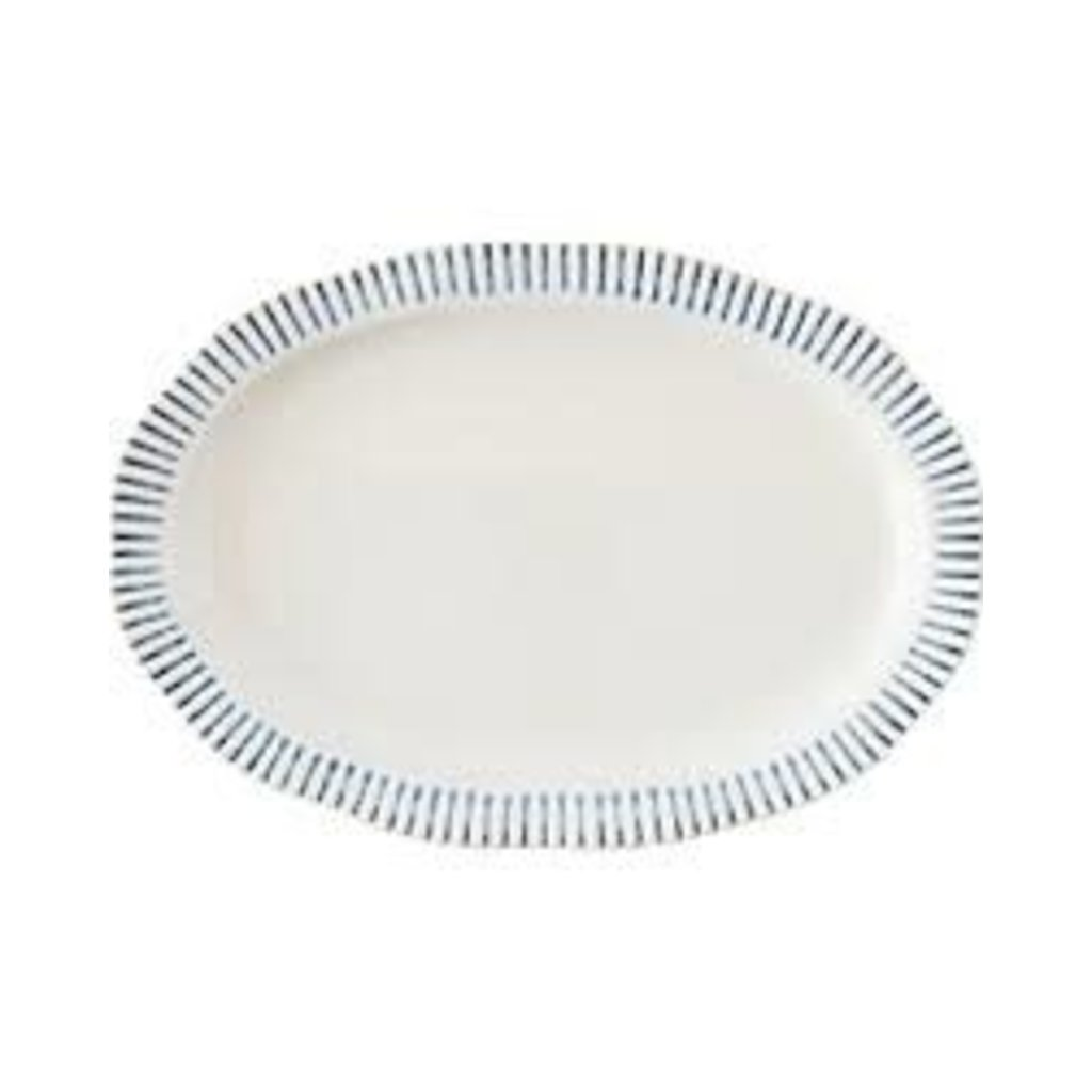 Juliska Juliska Sitio Stripe Serving Platter-17""