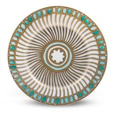 Haviland Haviland Syracuse B&B Plate Turquoise
