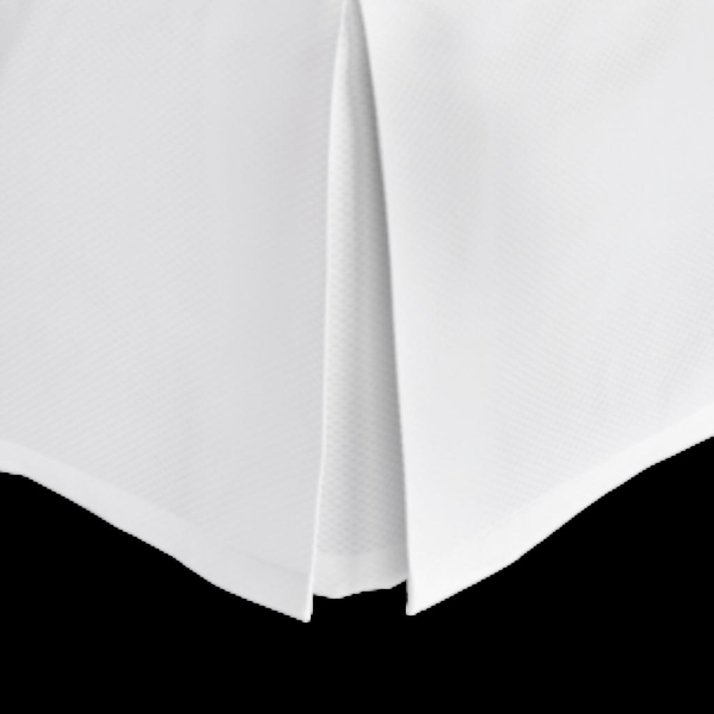 Matouk Matouk Diamond Pique Full Bed Skirt
