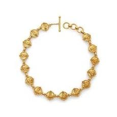 Julie Vos Julie Vos Bee Link Necklace Gold