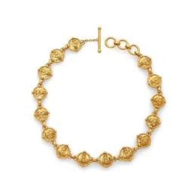 Julie Vos Julie Vos Bee Link Necklace Gold