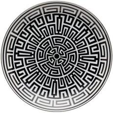 "Richard Ginori Richard Ginori Labirinto Centerpiece Coupe Plate - 12.25"""