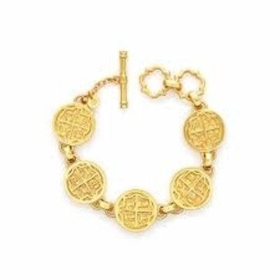 Julie Vos Julie Vos Valencia Coin Bracelet Gold