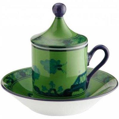 Richard Ginori Richard Ginori Oriente Italiano Tete a Tea Malachite