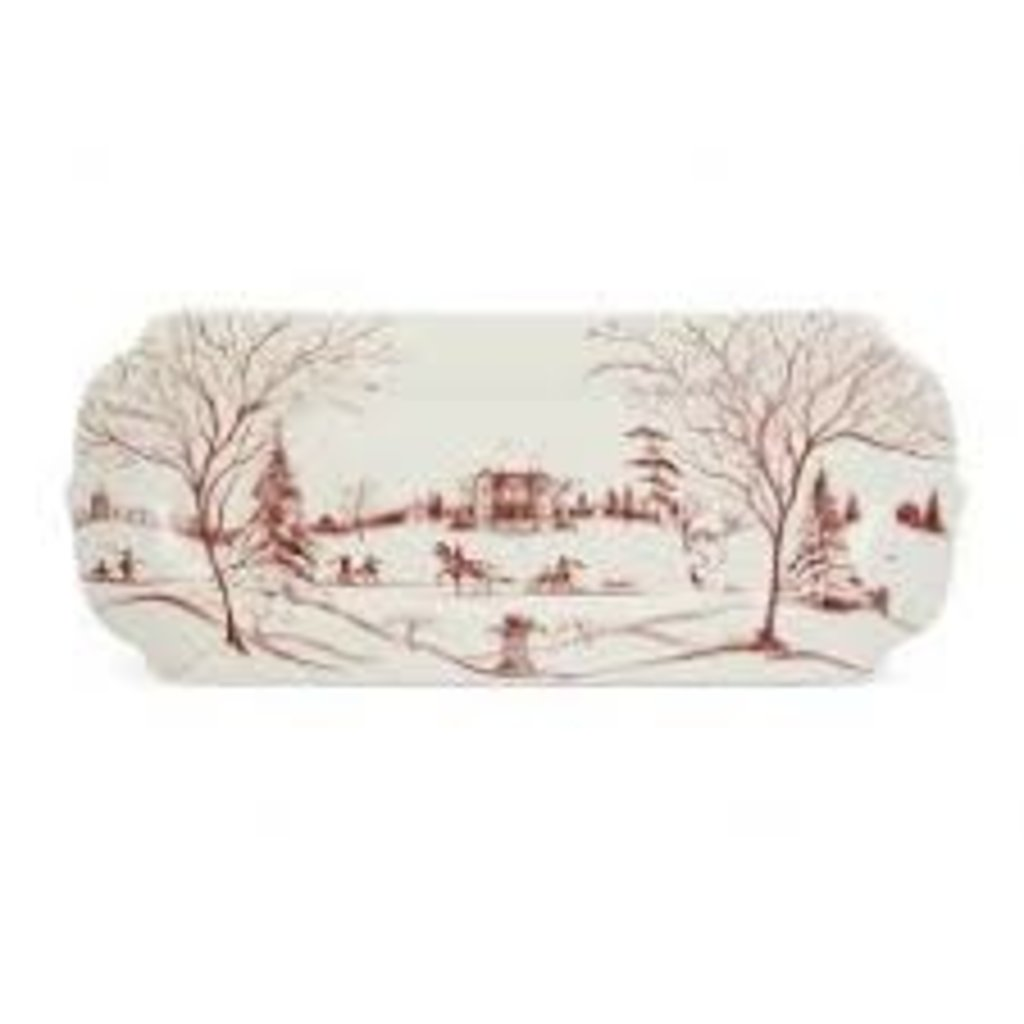 Juliska Juliska CE Hostess Tray- Ruby
