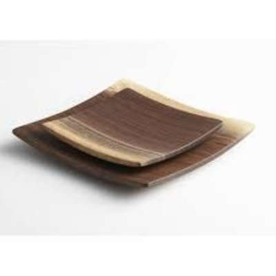 "Andrew Pearce Andrew Pearce Square 7"" Plate- Black Walnut"