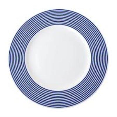 """Caskata Caskata Newport Blue Dinner Plate -10.75"""""""