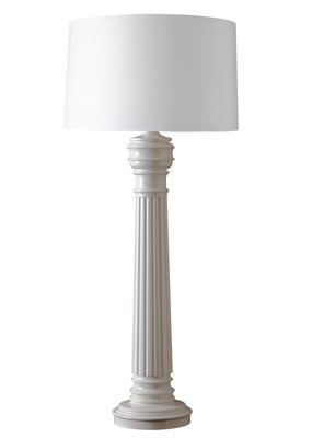 Dunes and Duchess Dunes & Duchess Half-Hitching Post Lamp base only - White