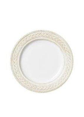 Juliska Juliska Le Panier Whitewash Dessert/Salad Plate