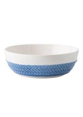 Juliska Le Panier White/Delft Coupe Pasta/Soup Bowl
