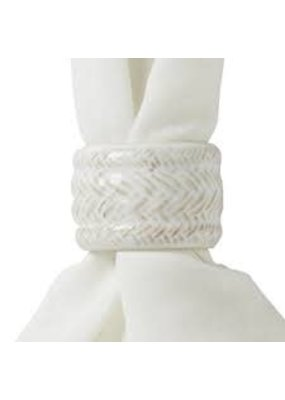 Juliska Juliska Le Panier Whitewash Napkin Ring