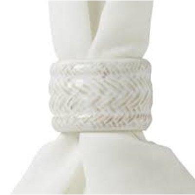 Juliska Juliska Le Panier Whitewash Napkin Ring