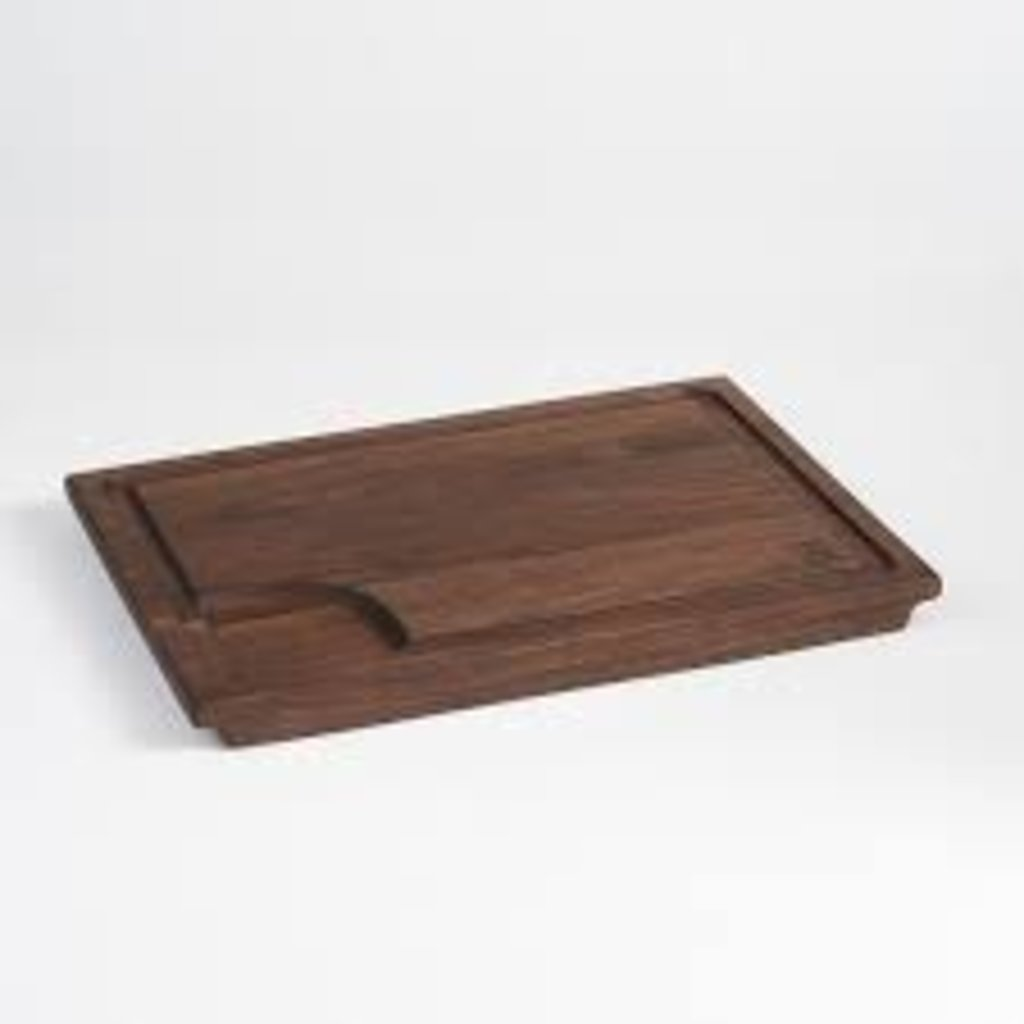 Andrew Pearce Andrew Pearce Large Carving Board w Juice Groove & Well- Black Walnut
