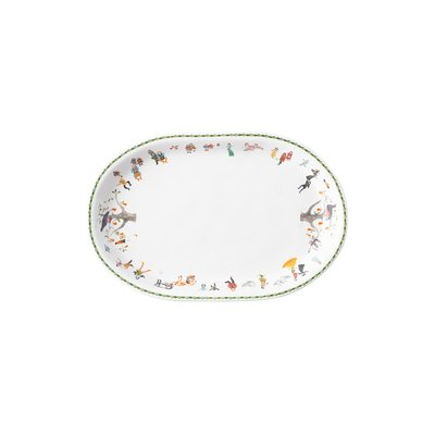 Juliska JULISKA 12 DAYS OF CHRISTMAS OVAL PLATTER