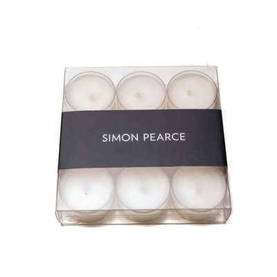 Simon Pearce Simon Pearce Tea Light Candles - Set of 9
